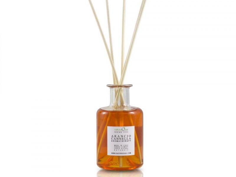 Diffusore Ambiente 180 ml Arancio e Cannella -1