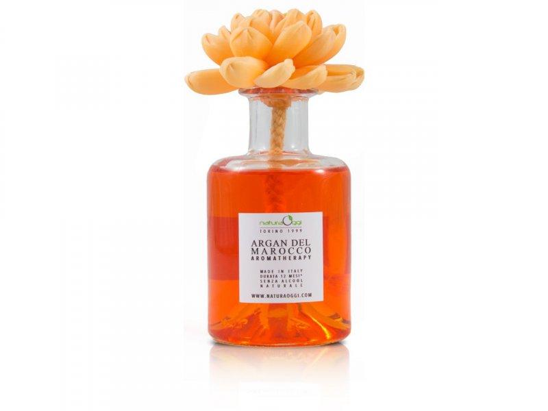 Natura OggiDiffusore con Fiore 180 ml Argan Del Marocco