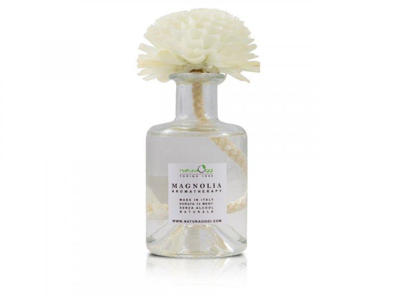 Natura OggiDiffusore con Fiore 180 ml Magnolia