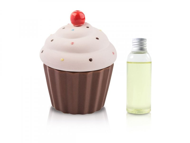 Diffusore Ambiente Cup Cake Rosa Opaco 50 Ml - v1