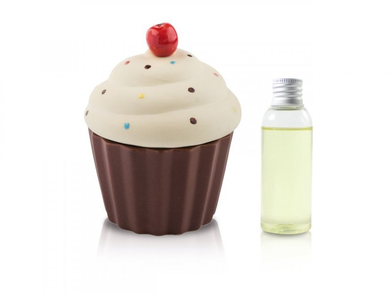 Diffusore Ambiente Cup Cake Giallo Opaco 50 Ml -1