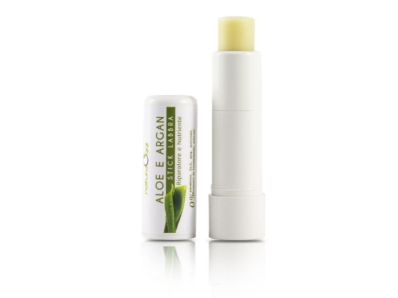 Stick Labbra Biologico con Aloe Vera e Olio Argan -1