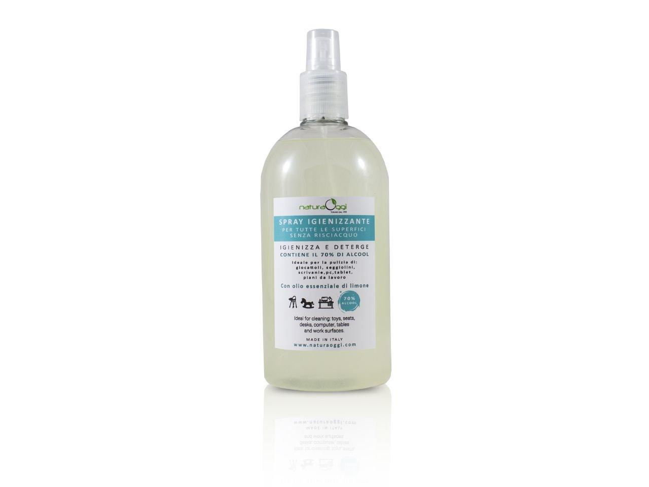 Spray Igienizzante Per Tutte Le Superfici 70% Di Acool 500 ml - v1