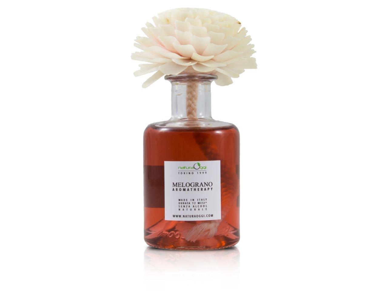 Diffusore con Fiore 180 ml Melograno - v1