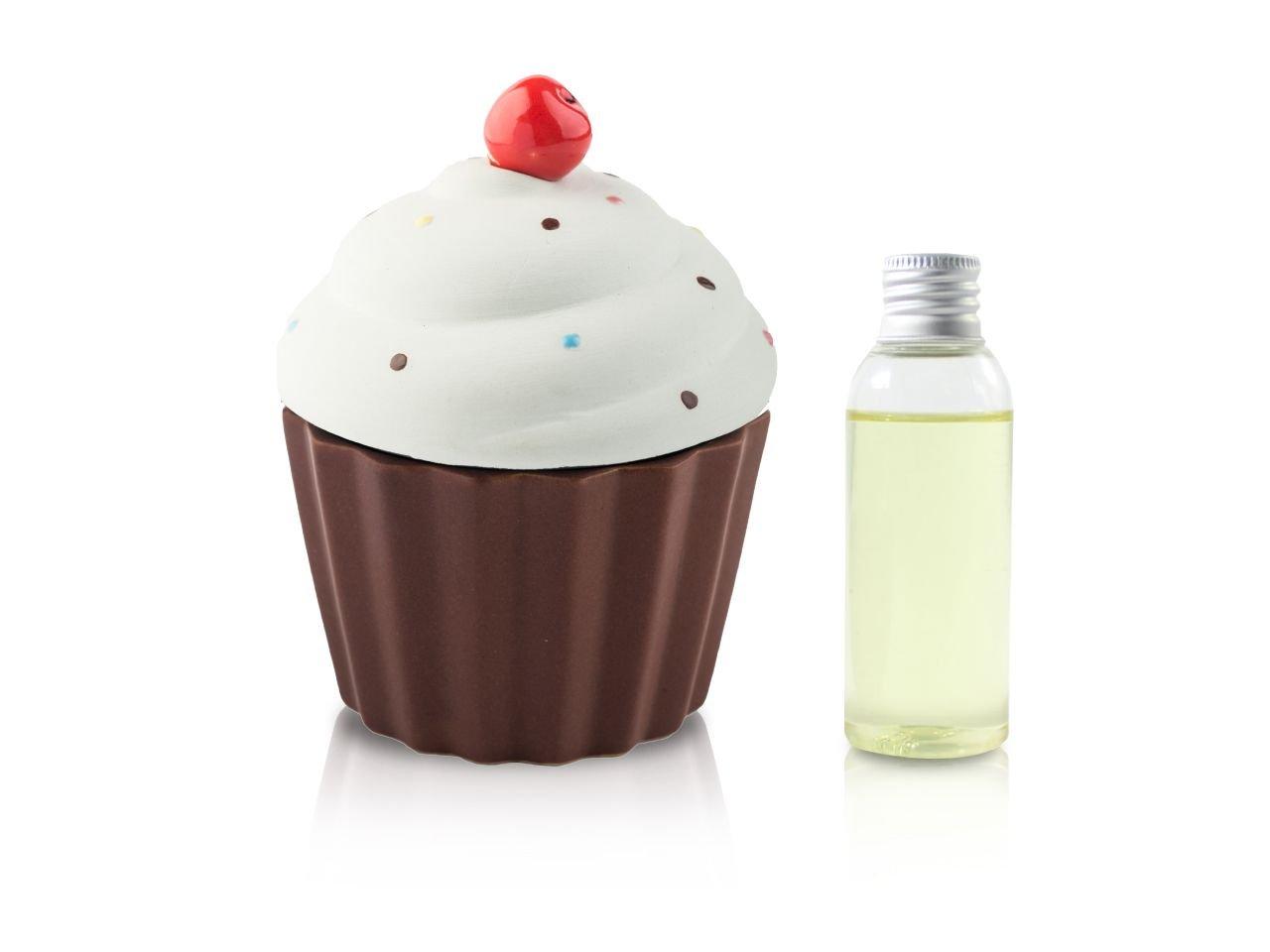 Diffusore Ambiente Cup Cake Verde Opaco 50 Ml - v1