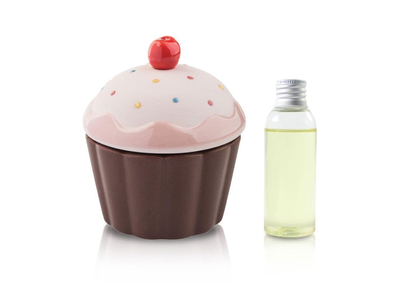 Diffusore Ambiente Cup Cake Rosa Onda 50 Ml - v1