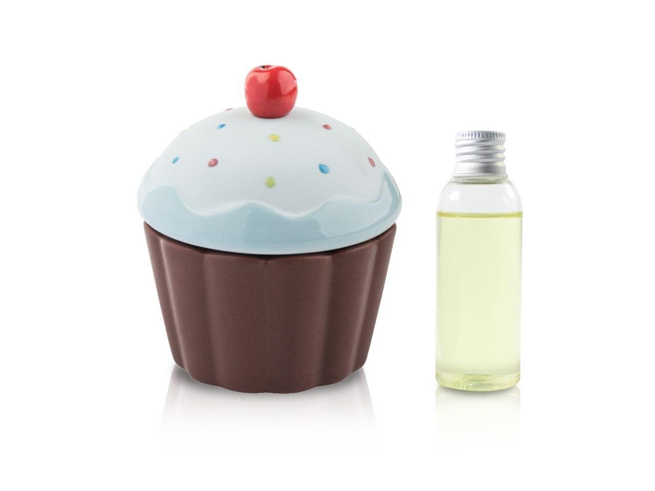 Diffusore Ambiente Cup Cake Azzurro Onda 50 Ml - v1