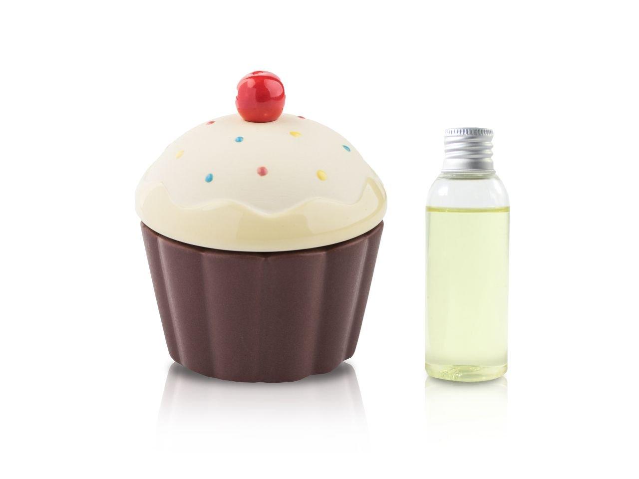 Diffusore Ambiente Cup Cake Giallo Onda 50 Ml - v1